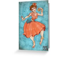 Dance with Joy Greeting Card
