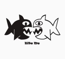 Fish Bite Me T-Shirt by Patricia Johnson