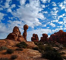 Balanced Rock, Arches National Park by Catherine Sherman