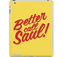 Better Call Saul! iPad Case/Skin