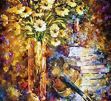 The Rhythm Of Thoughts — Buy Now Link - www.etsy.com/listing/221264156 by Leonid  Afremov