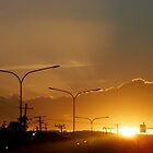 Gold Wires thru the Sunsset, Almost Home by MardiGCalero