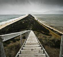 As the storm hit, Bruny Island, Tasmania by NickMonk