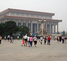 Forbidden City in Tianamen Square by Laurie Puglia
