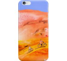 Ride with the moon iPhone Case/Skin
