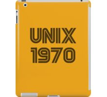 Unix 1970 iPad Case/Skin