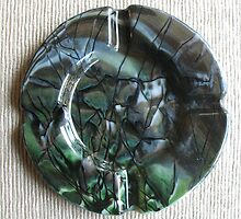 Stylish Vices Series:  Verdant Ashtray by Kaz Rhoads