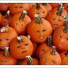 Pumpkin Heads by susi lawson