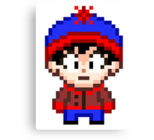 South Park Stan Marsh Mini Pixel Canvas Print