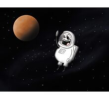 Little guy lost in space Photographic Print