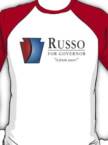 Russo for Governor - Dark T-Shirt