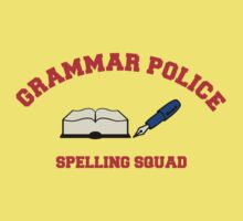 Grammar Police series: Spelling Squad by midnightowl