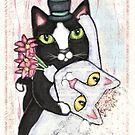 Wedding Dance Cats by Jamiecreates1