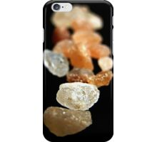 With a few grains of salt iPhone Case/Skin