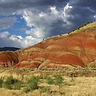 Painted Hills, John Day Fossil Bed NP by Peter Zentjens