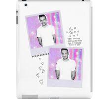 liam collage iPad Case/Skin