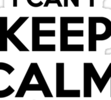 I cant keep calm Im a WOLFPACK Sticker