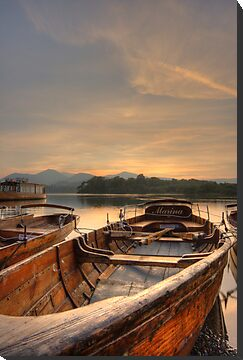 Rowing Boat by Rich Gale