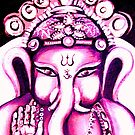 Ganesha radiating Love by whittyart