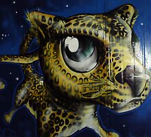 Leopard Cat Blue  by boldoflorine