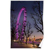 Big Ben London Eye (Alan Copson © 2008) Poster