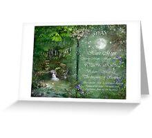 May - Willow Moon Greeting Card