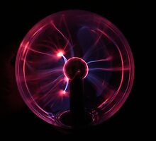 New Plasma Ball by davesphotographics