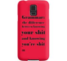 Grammar: The Difference Between Your and You're Samsung Galaxy Case/Skin