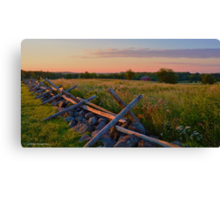 Field of Honor Canvas Print