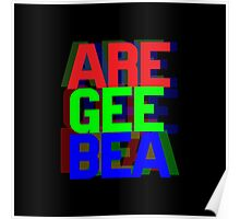 Are Gee Bea Poster