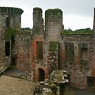 Caerlaverock Castle by RedHillDigital