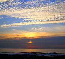 Autumn Sky~Sea Scapes by Honor Kyne