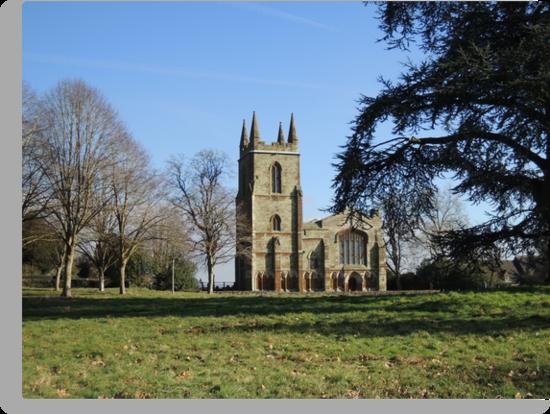 Canons Ashby Church by CreativeEm