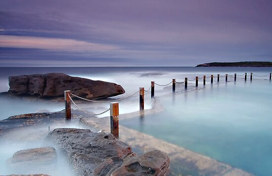 Mahon Pool Sunset by TimboDon