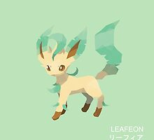 Leafeon Low Poly by meowzilla