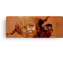 Pippi Canvas Print