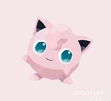 Jigglypuff Low Poly by meowzilla