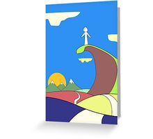 The Conscience Speaks Greeting Card