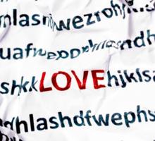 love letter Sticker