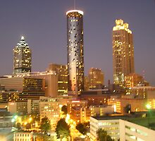 Atlanta Night by Sandy Sparks