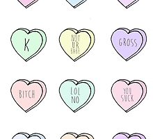 """""""Hate Hearts"""" Design  by elliegillard"""
