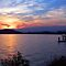 Lake Coeur d&#x27; Alene Sunset by Tamara Valjean
