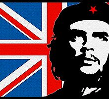 CHE GUEVERA-UNION JACK by OTIS PORRITT