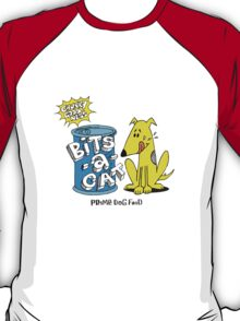bits-a-cat prime dog food T-Shirt