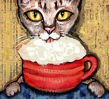Abyssinian With Coffee by Jamiecreates1