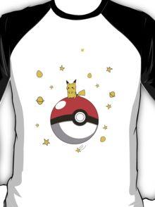 Le petit prince pikachu pokemon T-Shirt
