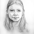 Astrid at age 10 by Arie van der Wijst