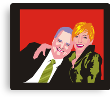Shaz & Pete Canvas Print