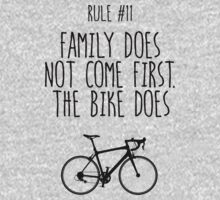 Rule #11 Family does not come first. The bike does by BonniePortraits