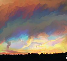 Oil-Stained Sky by Suimitsu
